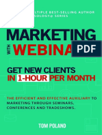 Marketing With Webnars - Tom Poland