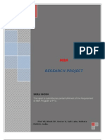 A PROJECT REPORT ON MICROFINANCE IN INDIA