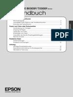 Faxhandbuch Epson BX 300F