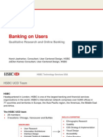 Banking on Users