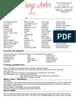 lindsey johr resume 2021