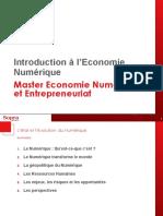 Introduction Economie Numérique