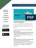 Como fazer anotações em aula e registrar os conteúdos importantes.pdf