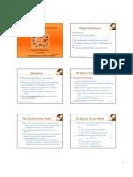 specific factors model