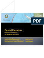 Principles of Dental Elevators