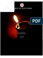 Church of South India Almanac 2021