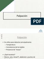 04 Diagnóstico por Palpación 2019