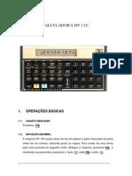 Utilização HP 12C