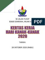 kertas kerja hari kanak 2020