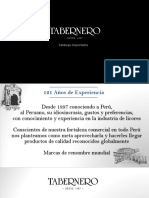 Brochure Importados - TABERNERO (1)