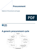 CIPS L4-Sourcing in Procurement and Supply