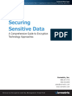 Securing Sensitive Data - A Comprehensive Guide to Encryption Technology Approaches