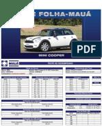 Teste Folha-Mauá - Mini Cooper S 1.6 16V Turbo