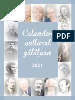 Calendar Cultural Gălățean 2021