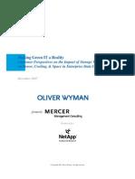 Oliver Wyman Study