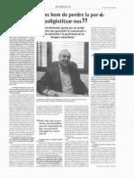 Llengües i globalització - El 3 de vuit  16-3-2001