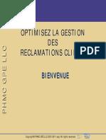 Gestion Des Réclamations Clients
