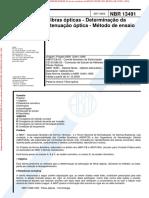 NBR13491 - 2000 - Fibras óticas - determinação da atenuação óptica.pdf