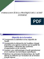 Formation Pratique Sur LAudit Interne 1