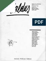 Baldus, n°0 - 1990 - Pellicani editore