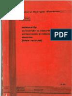 PE 116 - 84 - NORMATIV de incercari si masuratori la echipamente si instalatii electrice - editie rev