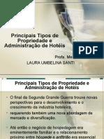 Principais Tipos de Propriedade e Administração de Hotéis