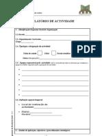 relatório actividades