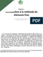 Chap1 Introduction à MEF