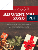 Adwentyki 2020. Poetyckie oczekiwanie na Boże Narodzenie
