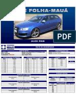 Testes Folha-Maua - Audi RS6