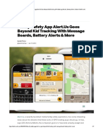 Family Safety App Alert.Us Goes Beyond ...ds, Battery Alerts & More | TechCrunch