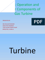 Major components and Basic Operation procedure of GT