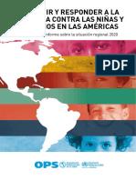 Prevenir la violencia contra niñas y niños en las Américas
