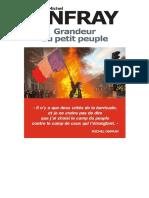 EBOOK Michel Onfray - Grandeur du petit peuple.pdf