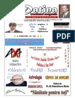 Datina - Ediție Națională - 1-2-3.01.2021- Prima Pagina