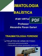 Traumatologia - Balistica