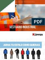 Catalogo Vestuario 2020-2