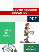 BLOG COMO HERRAMIENTA EDUCATIVA