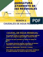 SESION 02 CAUDALES
