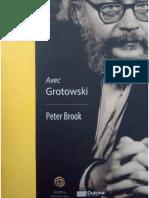 Peter Brook - Avec Grotowski.pdf