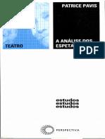 Patrice Pavis - A Análise dos Espetáculos.pdf
