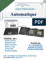 rapport automatique