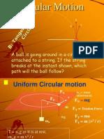 Circular Uniform Motion