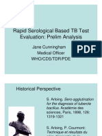 Evaluation of rapid TB test