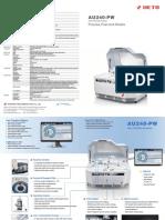 Catalog AU240PW Auto Chemistry Analzyer