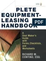 Contino R.M.  - The Complete Equipment-Leasing Handbook_ A Deal Maker's Guide with Forms, Checklists, and Worksheets (2002).pdf