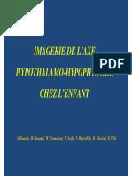 axe hyopothalam hypophysaire