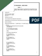 java lab manual Edited