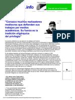 Entrevista a Carlosmagno Rodrigues