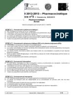 pharmacocinétique-qcm